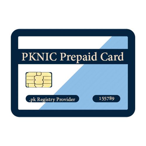 PKNIC Prepaid Cards